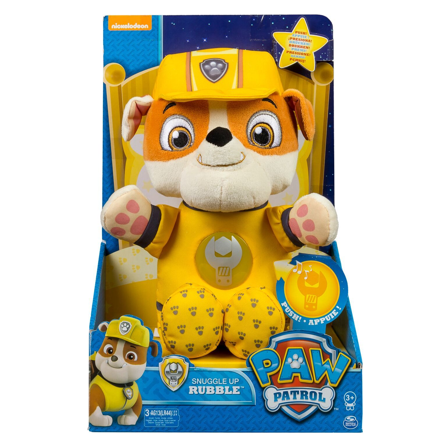 Paw Patrol  Snuggle Up Pup - Rubble image ... a24dac1db4ff