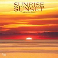 Sunrise Sunset 2019 Square Wall Calendar by Inc Browntrout Publishers