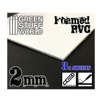 Green Stuff World Foamed PVC 2 mm