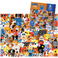Crocodile Creek: 500-Piece Boxed Puzzle - Lots of Dogs image