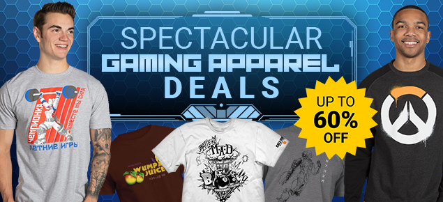 Spectacular Gaming Apparel Deals