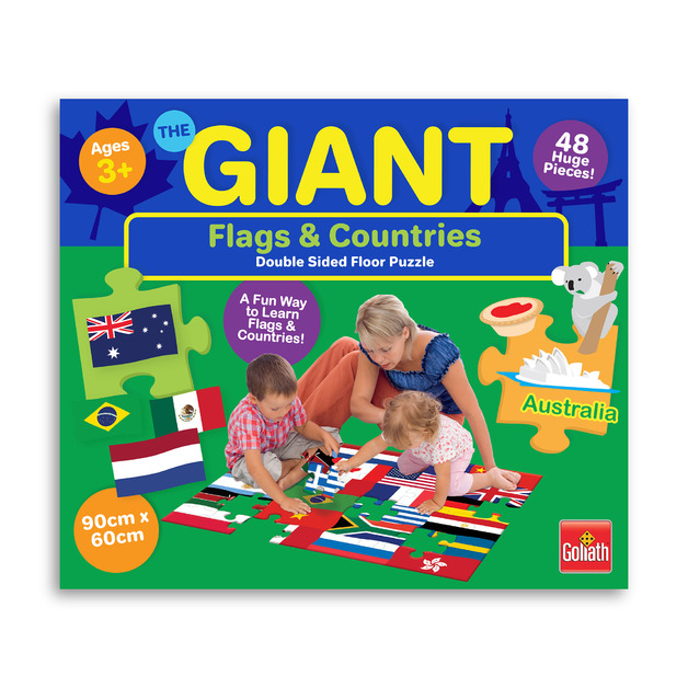 Goliath: 48-Piece Giant Floor Puzzle - Countries & Flags