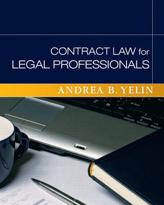 Contract Law for Legal Professionals by Andrea B Yelin image