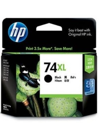 HP 74XL Inkjet Print Cartridge CB336WA (Black) image