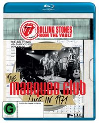 Rolling Stones From The Vault - The Marquee Club Live In 1971 on Blu-ray