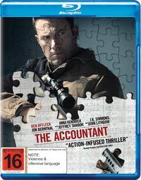 The Accountant on Blu-ray