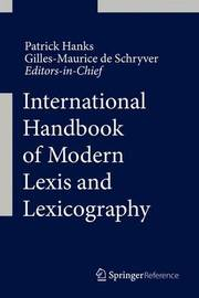 International Handbook of Modern Lexis and Lexicography