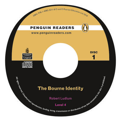 """Bourne Identity"" Book/CD for Pack: Level 4 by Robert Ludlum image"