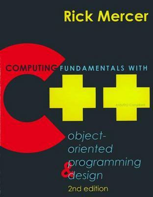 Computing Fundamentals with C++ by Rick Mercer image