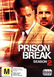 Prison Break - Complete Season 2 (6 Disc Set) on DVD image