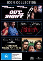 Out Of Sight / Intolerable Cruelty / O Brother, Where Art Thou? - 3 DVD Movie Pack (3 Disc Set) on DVD