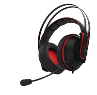 ASUS Cerberus V2 Gaming Headset - Red for PC Games