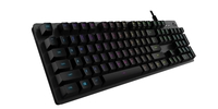 Logitech G512 Carbon RGB Mechanical Gaming Keyboard - Tactile for PC Games