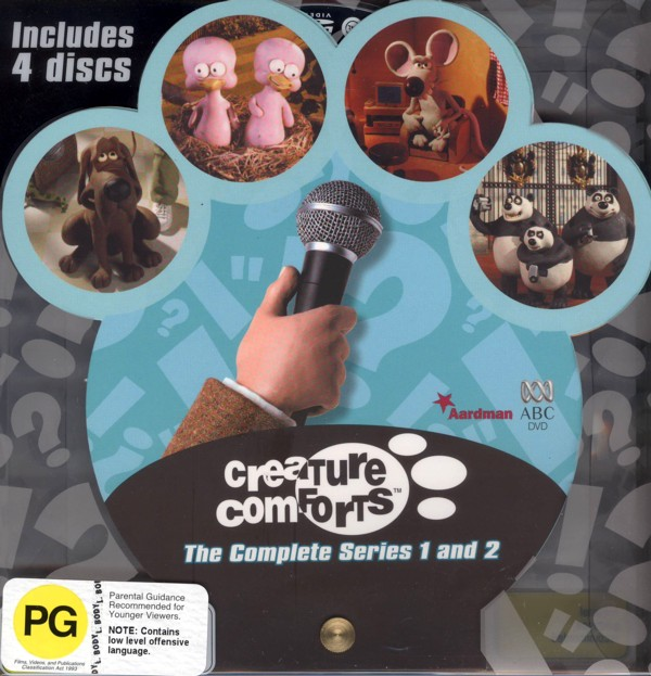 Creature Comforts - Seasons 1-2 on DVD image
