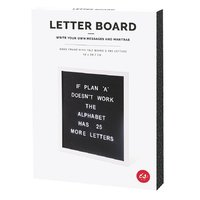IS GIFT Letter Board - A3 Black/ White image
