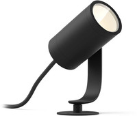 Philips: Hue Ambiance Lily LED Light Starter Spike Black 8W