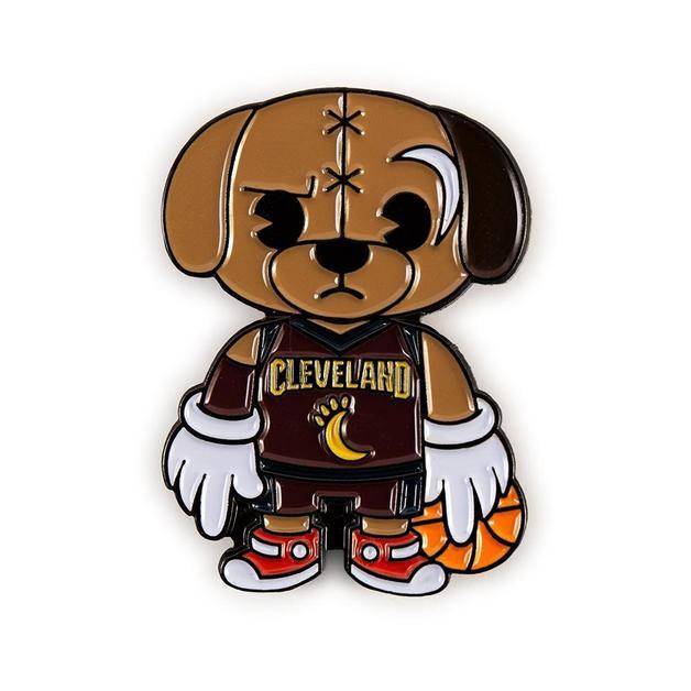 NBA: Cleveland Cavaliers - Moon Dog Mascot Enamel Pin