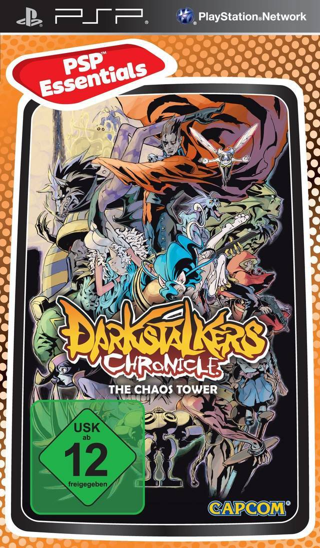 Darkstalkers Chronicle: The Chaos Tower for PSP image
