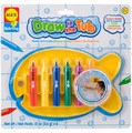 Alex: Draw in the Tub - Crayon Holder with Crayons