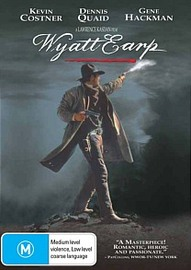 Wyatt Earp on DVD image