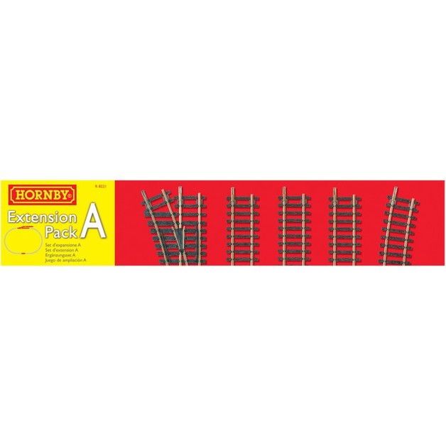 Hornby R8221 Track Pack Extension Pack A