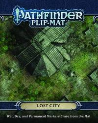 Pathfinder RPG: Flip-Mat - Lost City