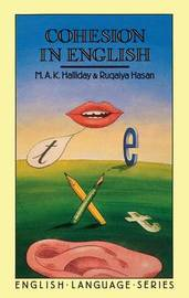 Cohesion in English by M.A.K. Halliday image