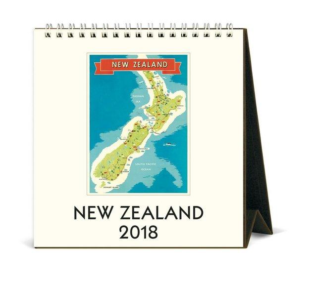 Buy new zealand 2018 desk calendar at mighty ape nz new zealand 2018 desk calendar gumiabroncs Gallery
