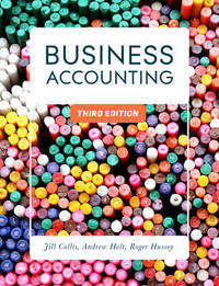 Business Accounting by Jill Collis