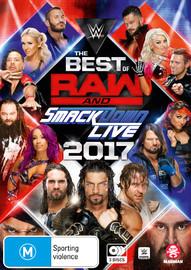 WWE: Best Of Raw & Smackdown 2017 on DVD