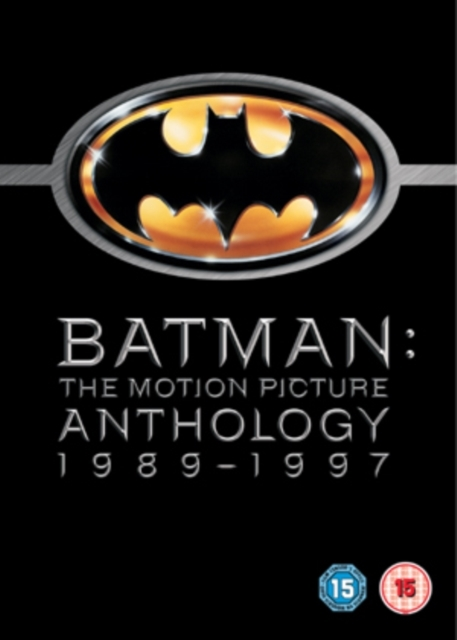 Batman The Motion Picture Anthology on DVD
