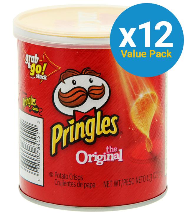 Pringles Grab & Go Small Original 37g (12 Pack)