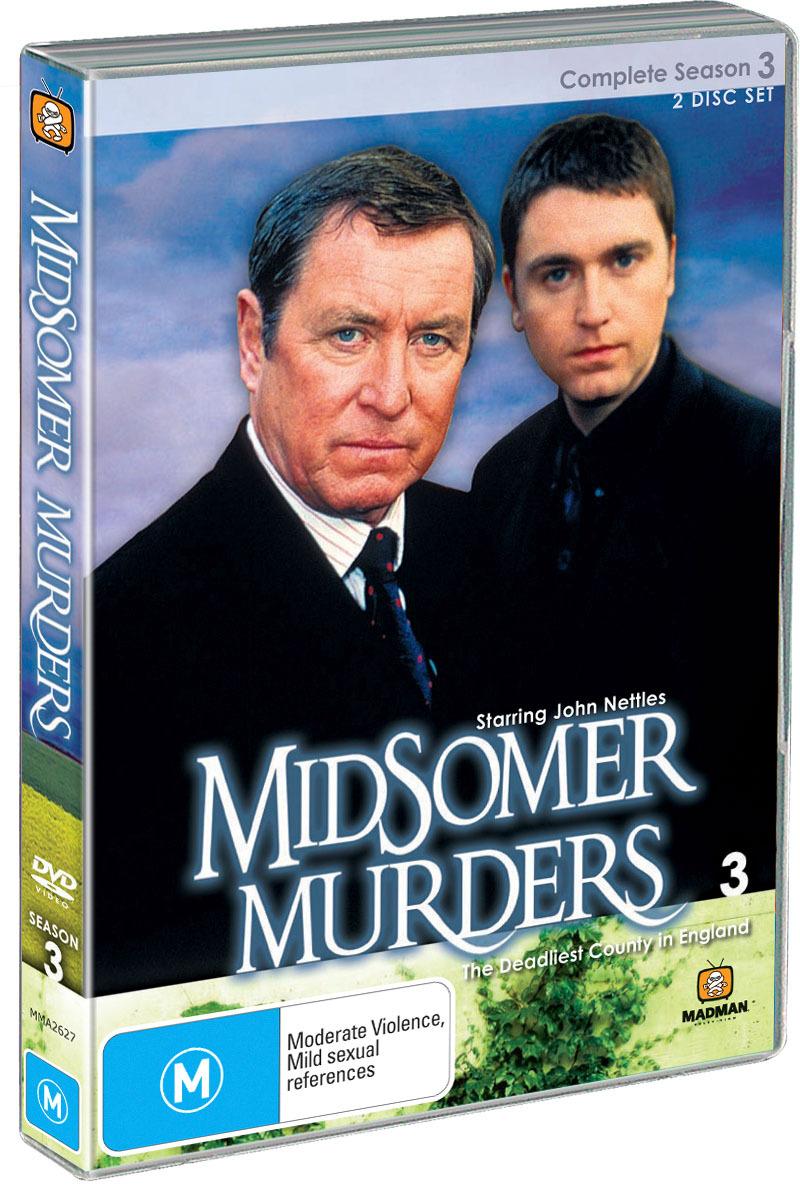 Midsomer Murders - Complete Season 3 (Single Case ) on DVD image