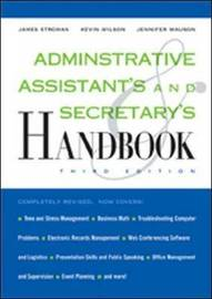 Administrative Assistant's and Secretary's Handbook by James Stroman image