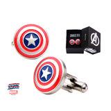 Marvel: Captain America's Shield Men's Cufflinks