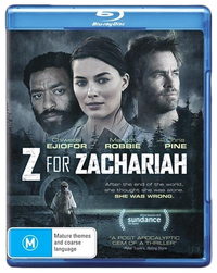 Z For Zachariah on Blu-ray