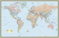 World Map-Laminated by BarCharts Inc
