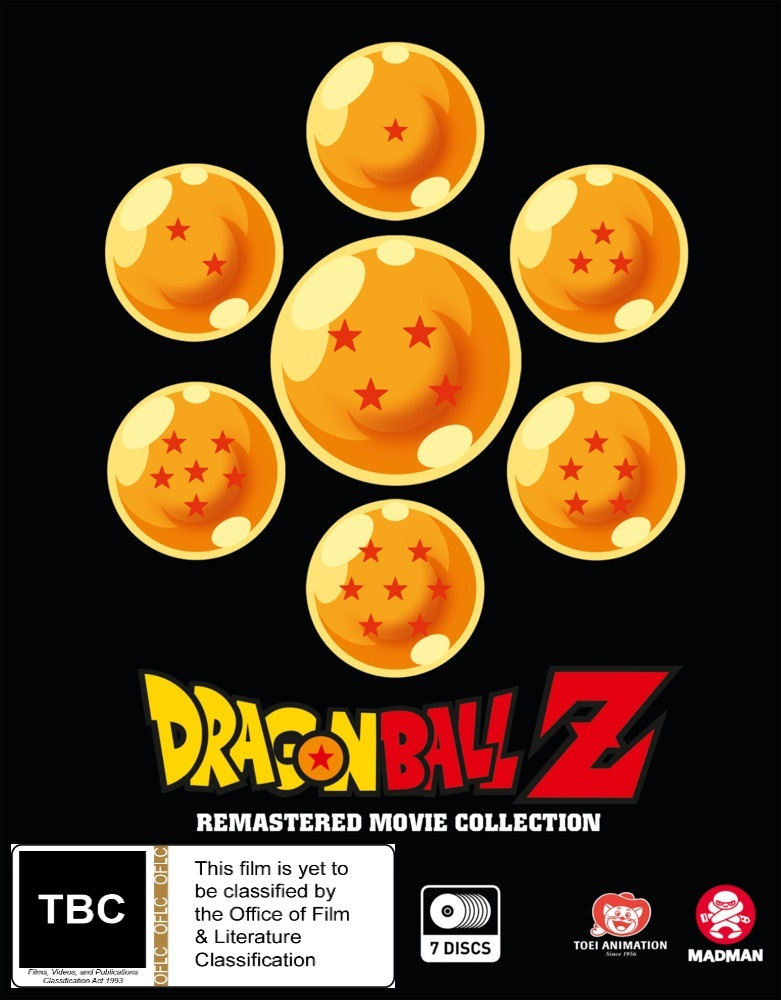 Dragon Ball Z: Remastered Movie Collection (Uncut) on Blu-ray image