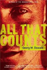All That Counts by Georg M Oswald