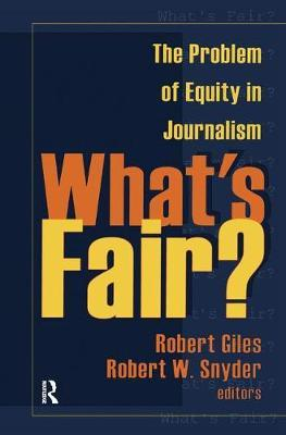 What's Fair? by Geoff Dench