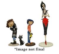 """Coraline - 3"""" PVC Mini-Figure Set"""