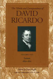 Works and Correspondence of David Ricardo: v. 8 by David Ricardo image