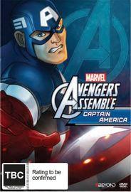 Avengers Assemble: Captain America on DVD