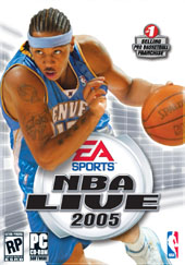 NBA Live 2005 for PC Games