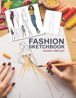 Fashion Sketchbook Figure Template by Nta Fashion Notebook