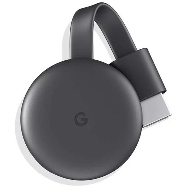 Google Chromecast 3 - Charcoal Grey