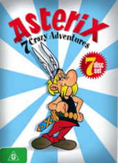 Asterix - 7 Crazy Adventures (7 Disc Box Set) on DVD