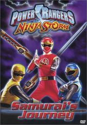 Power Rangers Ninja Storm - Samurai's Journey on DVD