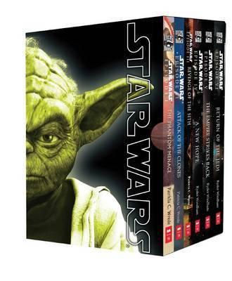 Star Wars Movie Novel Boxed Set by Patricia C Wrede image