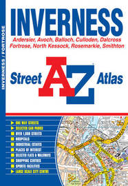 Inverness Street Atlas by Geographers A-Z Map Company